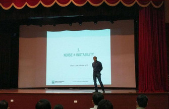 Talk by Mr. Anand Shah