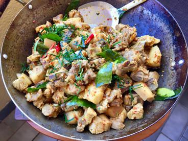 Pork Bone Khua Kling