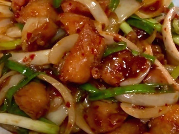 Chicken Cubes with Chilli