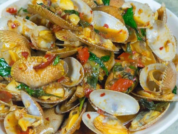 Shells with Curry Paste