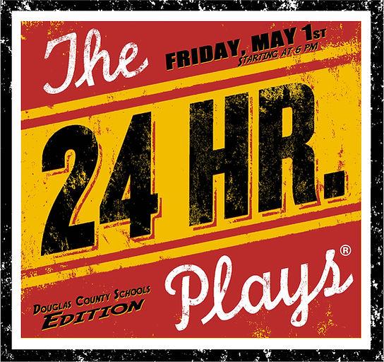 24 Plays Viral Monologues Logo - DCS Edi