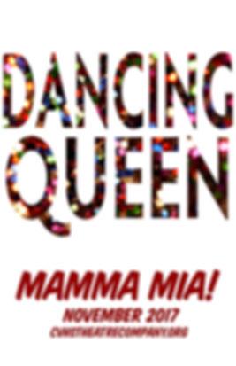 Dancing Queen Double Exposure Poster FIN