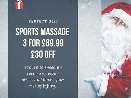 Christmas Massage offer