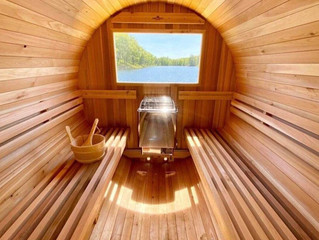 Sauna to improve fitness and reduce your risk of heart disease, BP, stroke and Alzheimer's