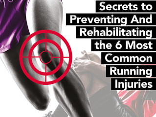 6 most common running injuries; how to prevent or fix them!