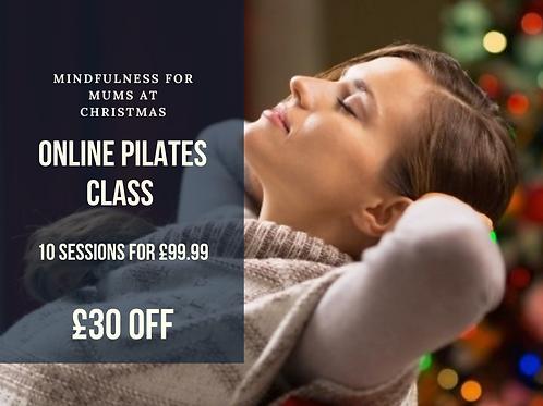 On-line Pilates Xmas Special