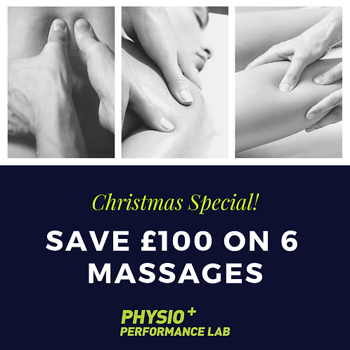 Christmas Special Massage Deal