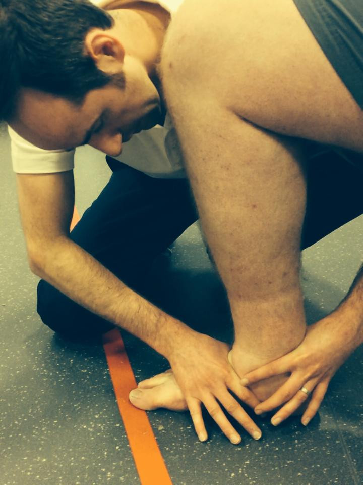 reduced ankle dorsiflexion