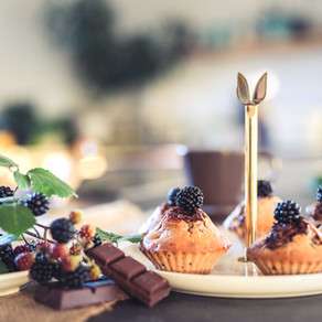 Recette Muffins mûres sauvages & chocolat