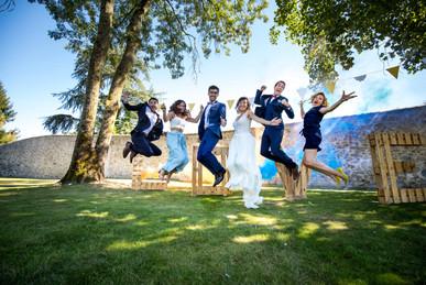 photographie mariage fumigène
