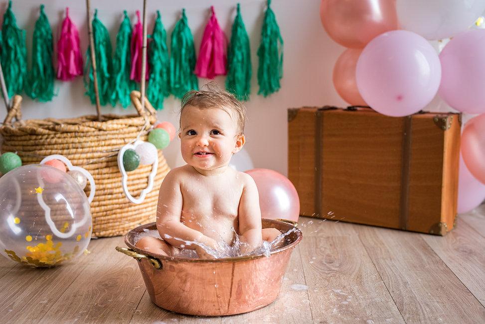séance photo premier anniversaire