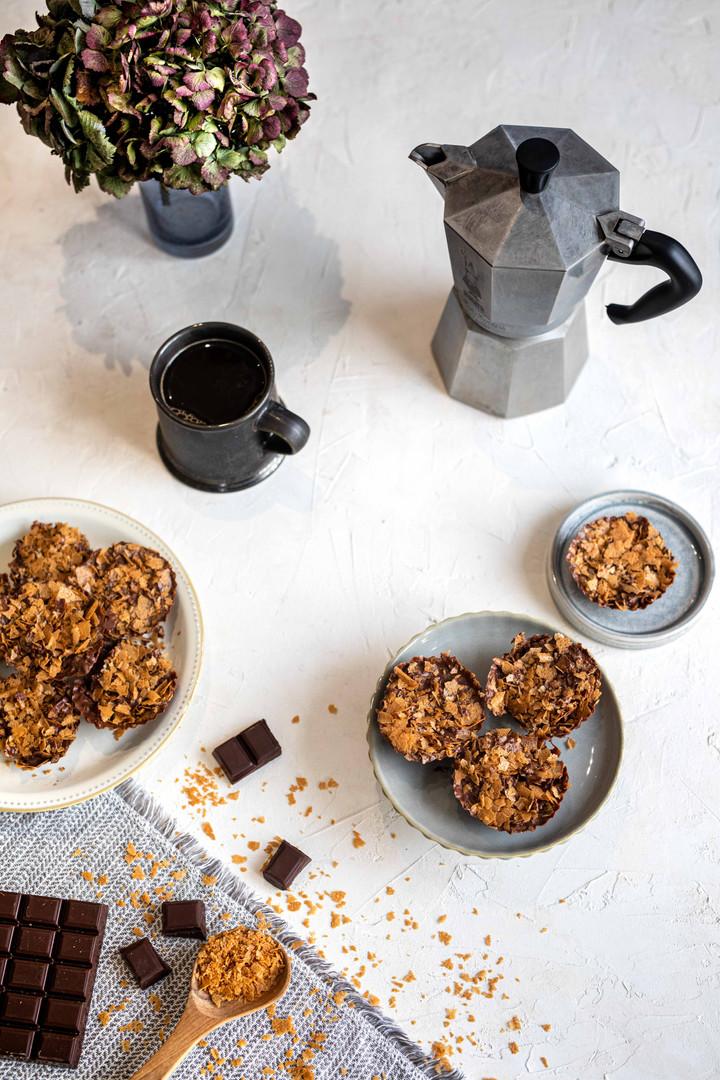 Photographie culinaire - Chocolats & gavotte
