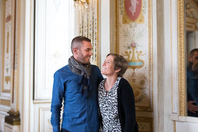 photo Couple chateau colbert - Maulévrier
