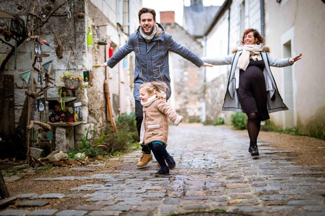 Séance photo famille à Behuard