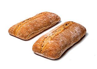 BUCKWHEAT CIABATTA 180 g made from the highest quality wheat flour with the addition of buckwheat flour