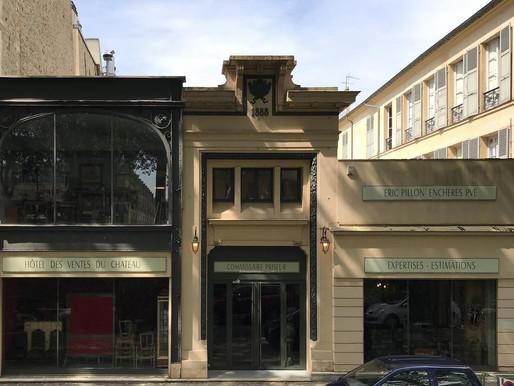 Inauguration de l'Hôtel des Ventes Osenat Pillon à Versailles