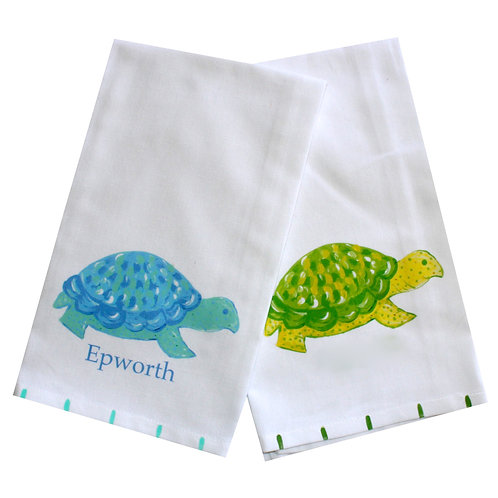 Box Turtle Kitchen Towel