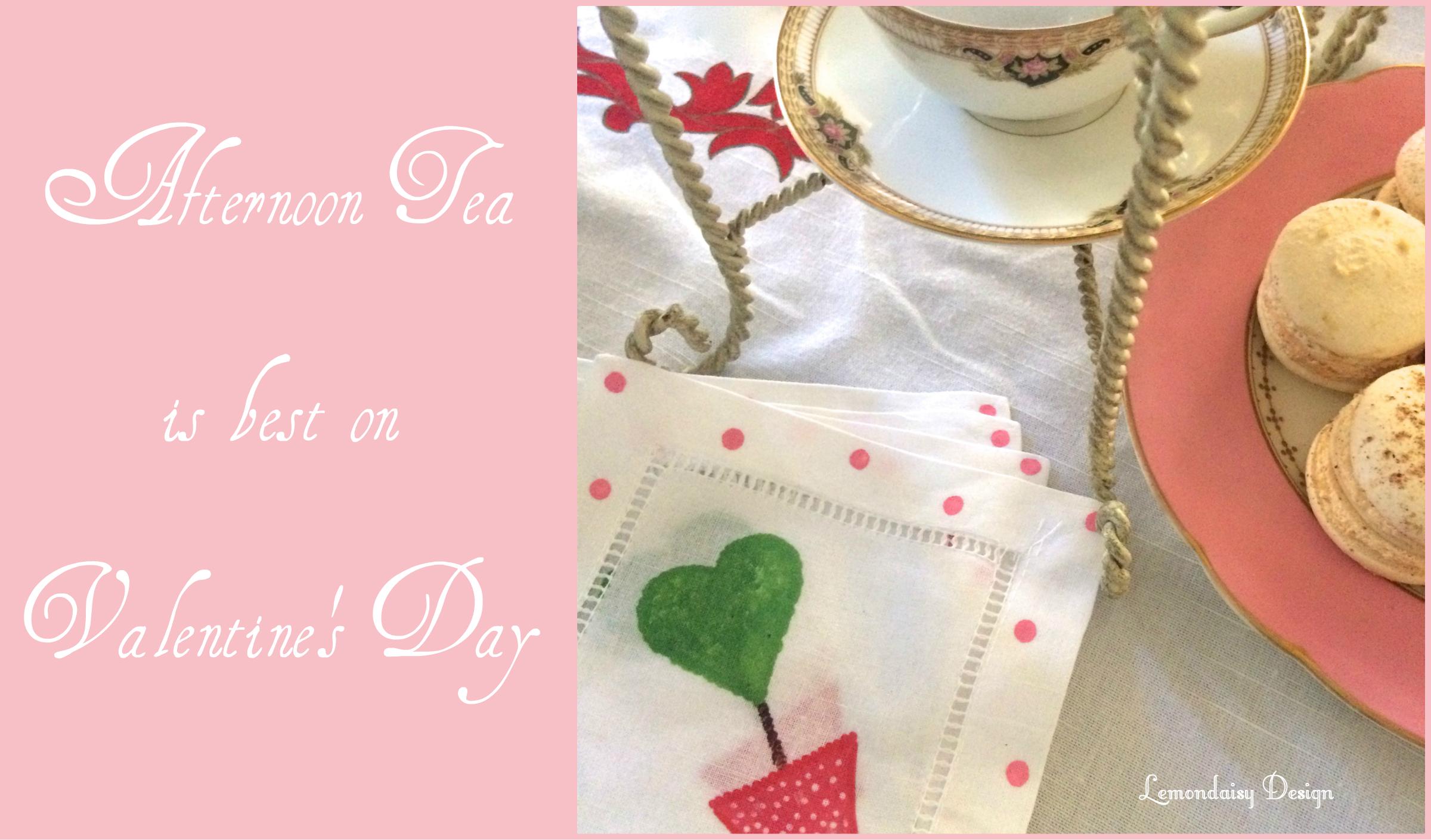 Afternoon Tea Valentine