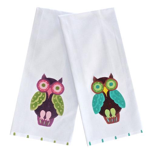 Owl Kitchen Towel