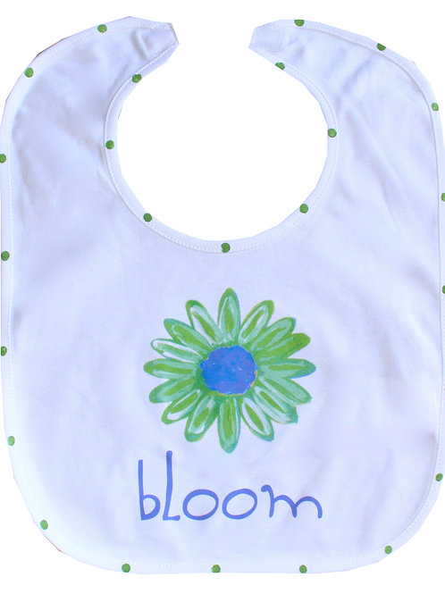 Bloom Daisy Baby Bib