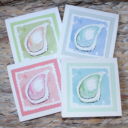 Oyster Note Card Set
