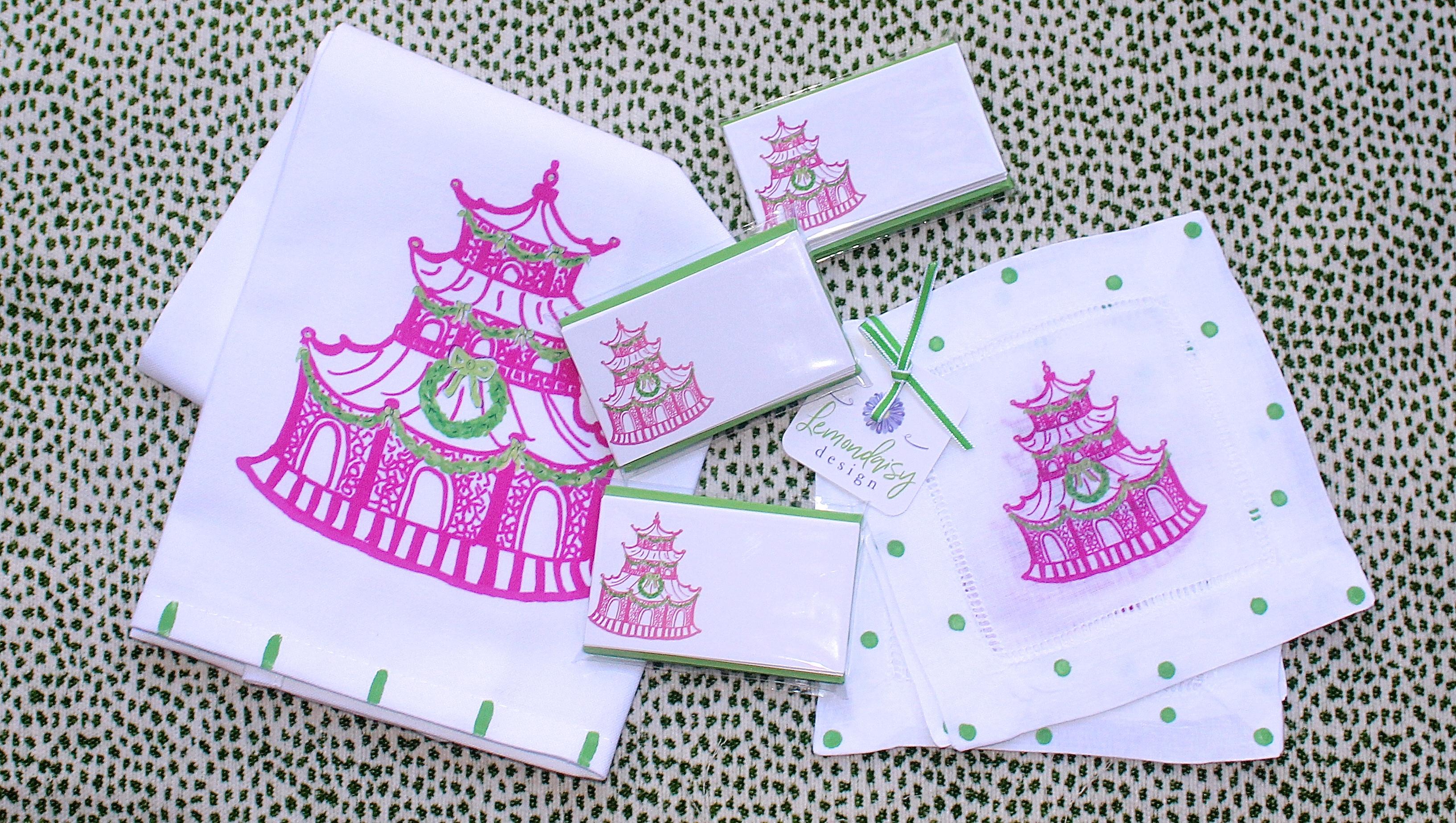 Pink Holiday Pagoda