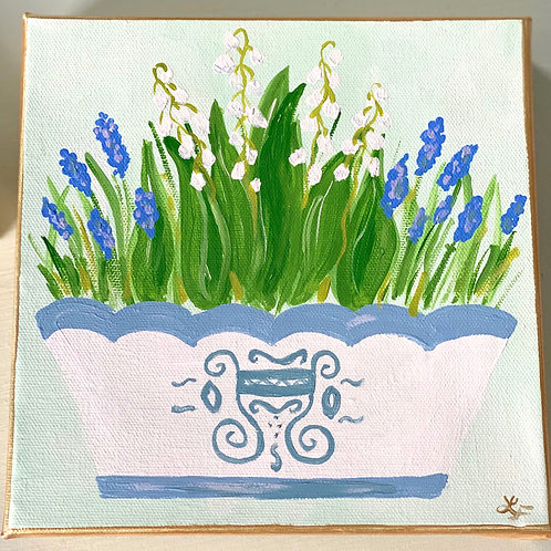 Lily of the Valley Mini Art