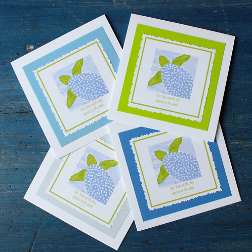 The Voice of the Sea Speaks to the Soul...Sea Turtle Note Card Set