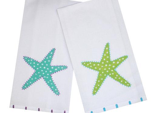Skinny Starfish Kitchen Towel