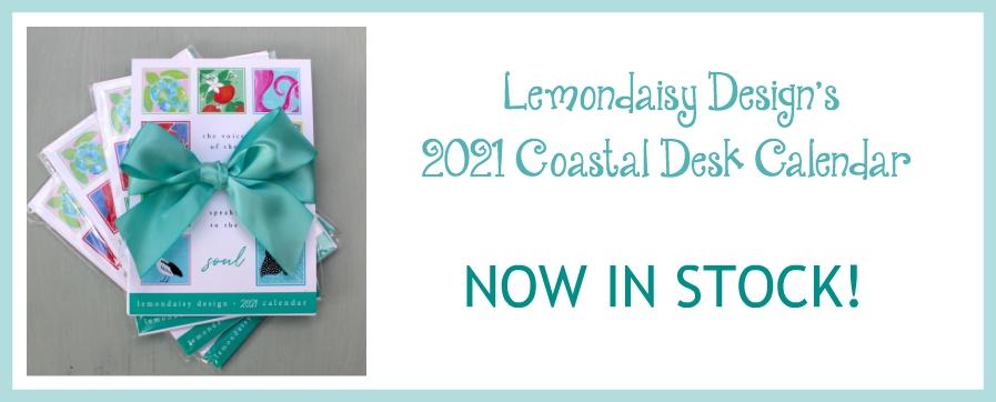 2021 Coastal Desk Calendar