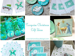Turquoise Christmas Gift Ideas
