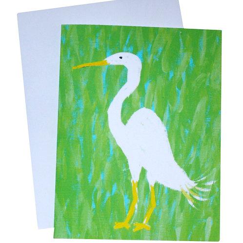Egret Note Card Set