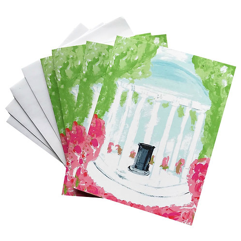 UNC Old Well Note Card Set