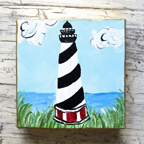 Cape Hatteras Lighthouse Original Painting