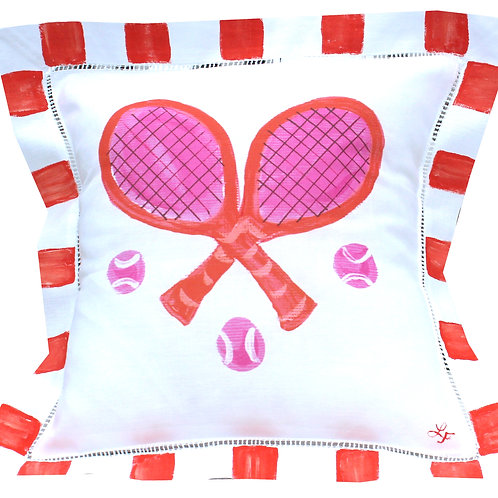 Colorful Tennis Pillow