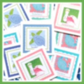 Hand Cut Note Cards Lemondaisy Note Cards