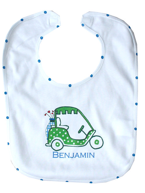 Golf Cart Baby Bib