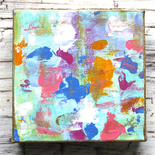 Tropical Abstract Original Painting