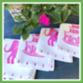 Chinoiserie Kitchen Towels