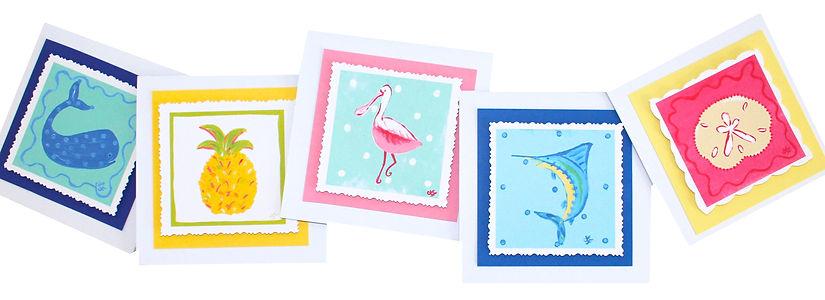 beach decor, beach greeting cards, whale art, fish art