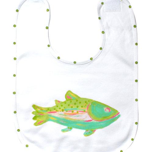 Rainbow Trout Baby Bib