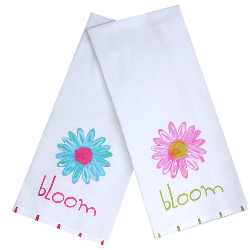 Bloom Daisy Tea Towel