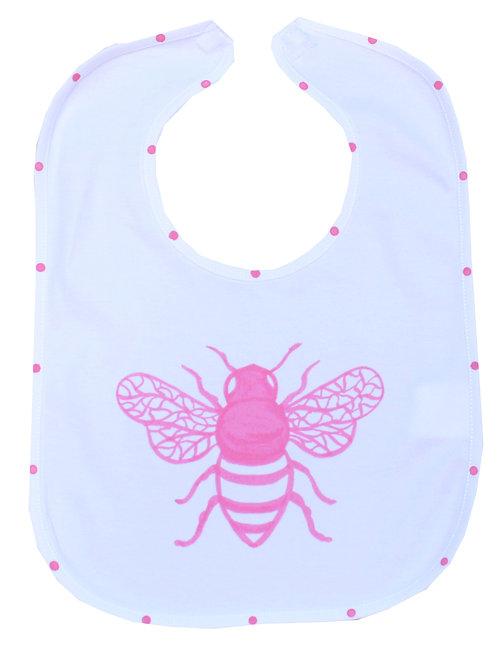 Honey Bee Baby Bib