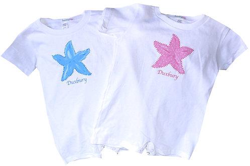 Starfish Beach Baby Romper