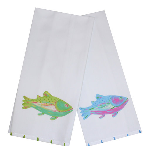 Rainbow Trout Kitchen Towel