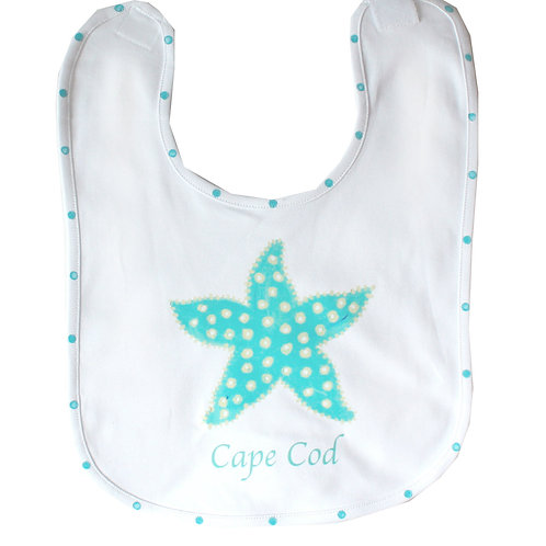 Auqa Starfish Baby Bib