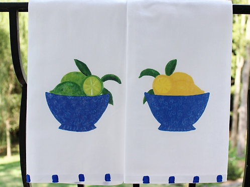 Lemons and Limes  Kitchen Towel