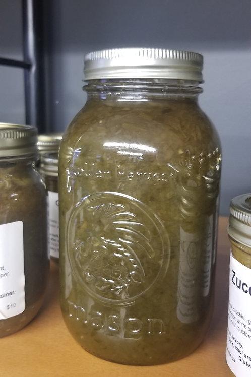Garlic Scape Relish, 1L