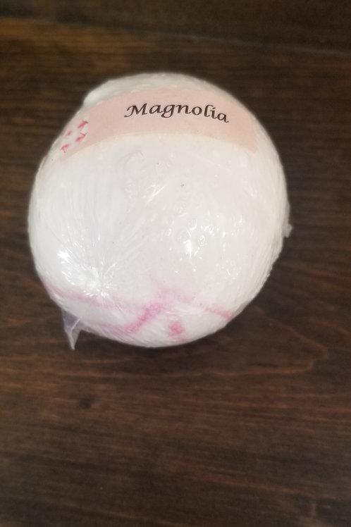 Magnolia bath bomb