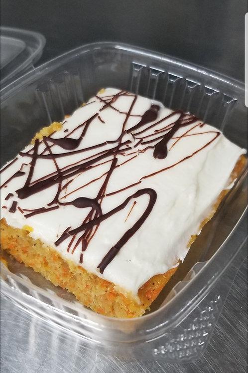 Carrot Cake, slice, frozen only